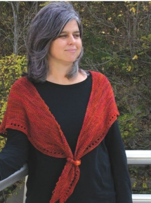 Heather-Inspired Shoulder Wrap/ Pattern from Schaefer Yarn - Shawls/Stoles