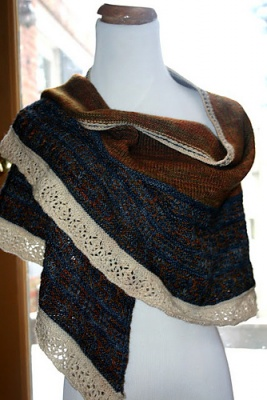 Helm's Deep/ Shawl Pattern by Sunflower Designs - Shawls/Stoles
