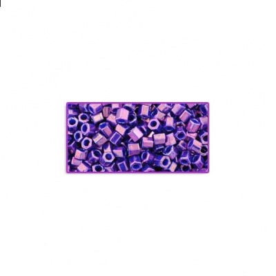 Grape Higher-Metallic/ Toho 8/0 Hexagonal Seed Beads - Size 8/0