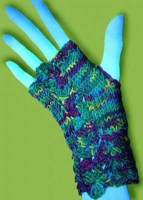 Hot Hands/ Pattern by Ellene Warren -