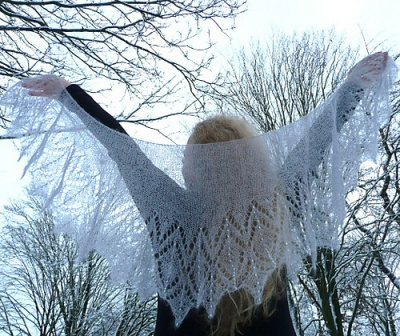 Icicles/ Shawl Pattern by Susanna IC - Shawls/Stoles