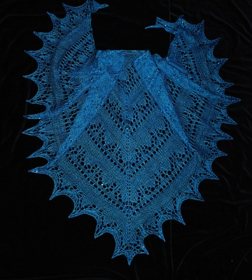 Ictis/ Beaded Shawl pattern/ Bead Gift - Shawls/Stoles