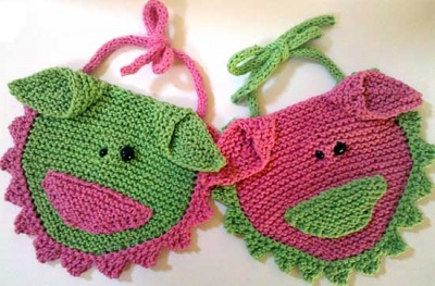 Iggy and Ivy/ Bib Pattern from Heidi -