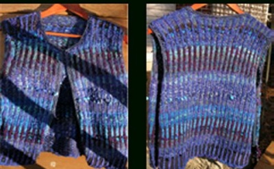 Road to Indigo Vest/ pattern by Jane Thornley - Garments and More