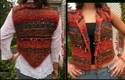 Sunset Bolero Vest/ pattern by Jane Thornley - Garments and More