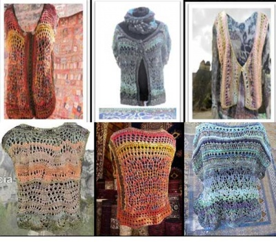 Vests From A Turkish Bazaar/ 3 Design Collection/ Jane Thornley - Garments and More