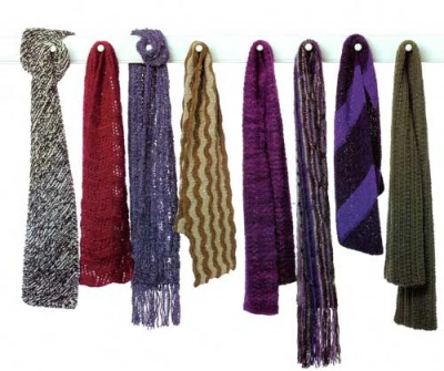 Scarves and Stoles/ Pattern/ Designs by Judith - Scarves and Cowls