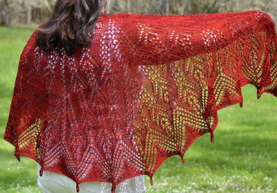 Kamile/ Kreations by Kristi/ Bead Gift - Shawls/Stoles