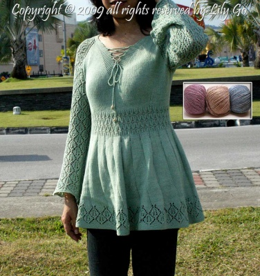 Lace Sleeves: Kit with Bead Option