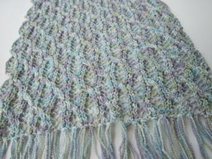 Lacy Maizy Wrap/ Pattern by Jackie E-S -