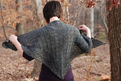 Lattice/ A Shawl Pattern by Rose Beck -