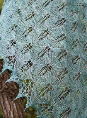 Leaf Envy/ Pattern by Mary White - Shawls/ Stoles