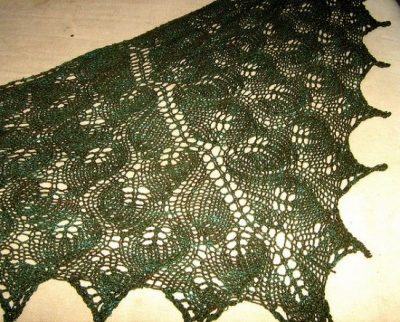 Legolas Kerchief/ Pattern from Sunflower Designs - Scarves and Cowls