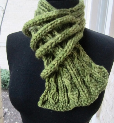 Let's Neck/ Scarf Pattern by She-Knits - Scarves and Cowls