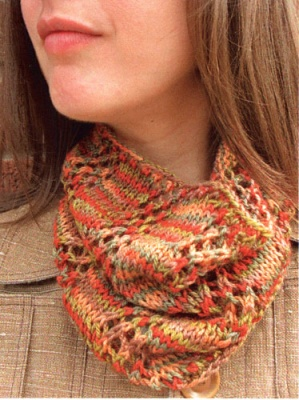 Listado Cowl/ Pattern by Laura Nelkin - Scarves and Cowls