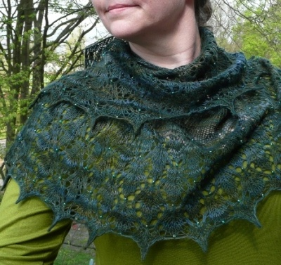 Little Leaves/ Pattern from Susanna IC - Shawls/Stoles