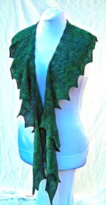 Maddau Scarf/ Pattern By Abigail Phelps - Scarves and Cowls