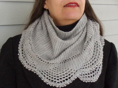 Madeline Shawl & Scarf/ Pattern/ Bead Gift - Scarves and Cowls
