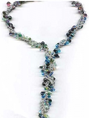 Magnetic Progressions Lariat/ New Fangled Necklace - Jewelry Creations