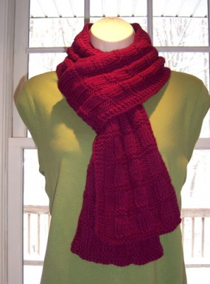 Mallory Square Scarf/ Pattern by Catie -