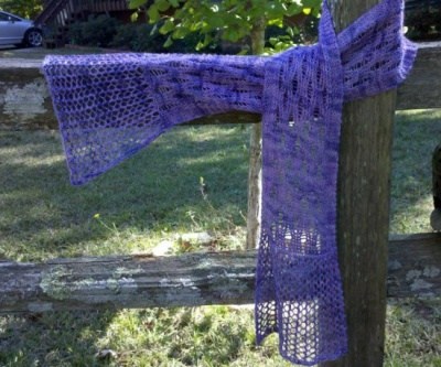 Mermaid Scarf/ Pattern by Heidi Barrett - Scarves and Cowls