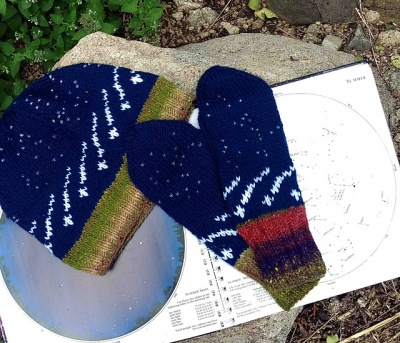 Meteor Shower Beanie  Mittens too! Kits 7a82d0f3213