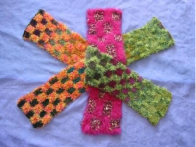 Mirror Mirror Scarf Pattern - Scarves and Cowls