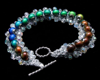 Northern Lights Bracelet - Jewelry Creations