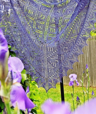 Nadira/ Shawl Pattern/ Design by Dee O'Keefe - Shawls/Stoles