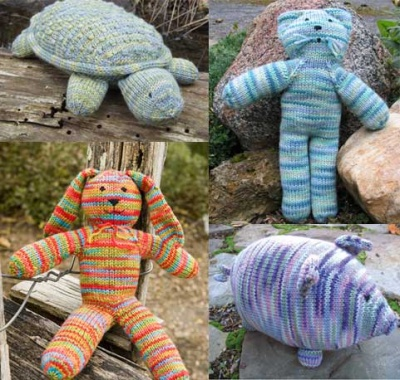 Four Toy Patterns Made With Nichole/ Schaefer -