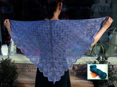 Norwegian Woods Shawl/ Beaded Kit