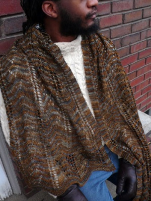 Oh! Canada/ Scarf Pattern from KnitSpot - Scarves and Cowls