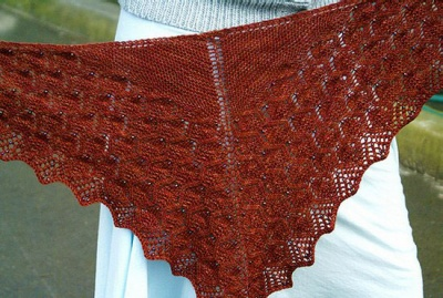 Ophidian/ Shawl Pattern from Sivia - Shawls/Stoles