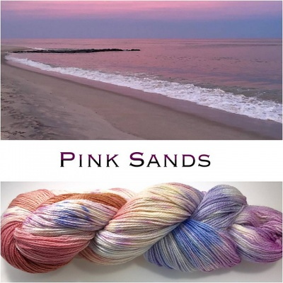 ArtYarns Inspiration Club: July: Pink Sands -