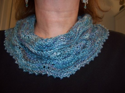 Ripples and Rills/ Cowl Pattern by Catie - Scarves and Cowls