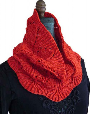 Rosehaven/ Pattern by Fiber Dreams - Scarves and Cowls