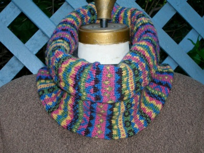 RoundAbout Scarf/ Pattern by Maureen Mason-Jamieson - Scarves and Cowls