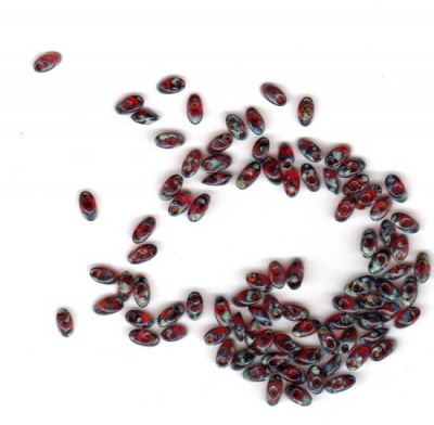 Ruby Picasso/ 4x7mm Long Megatamas -