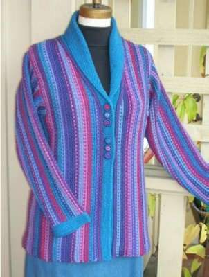 Serenade Sweater/ Pattern by Maureen Mason-Jamieson - Garments and More