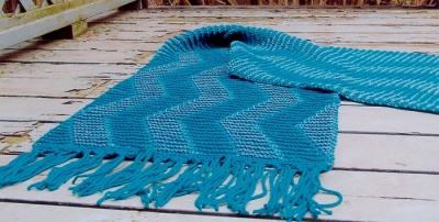 Shadow Wave Wrap/ Pattern by Maureen Mason-Jamieson - Shawls/Stoles