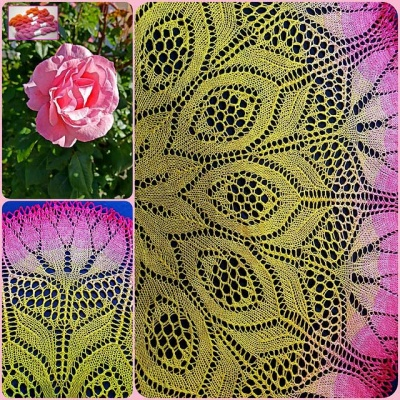 Shoshana Shawl/ Kits with Bead Option