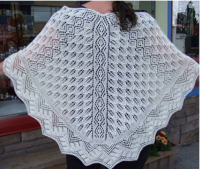 Harbour Lights Shawl/ by Sivia Harding - Shawls/Stoles