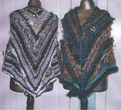 Sonata Shawl from Not Just Plain Jane Knits/ Pattern - Shawls/Stoles