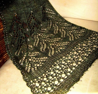 Spruce/ Scarf Pattern from Sunflower Designs -