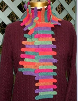 Step by Step Scarf/ pattern by Maureen Mason-Jamieson - Scarves and Cowls