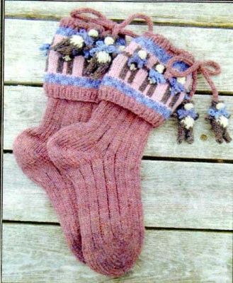 Teddy Bears on Parade/ Sock Pattern by Barbara Telford -