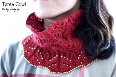 Tenta Cowl Pattern/ by Lily Go - Scarves and Cowls