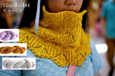 Three Wishes/ Beaded Cowl/ Kits