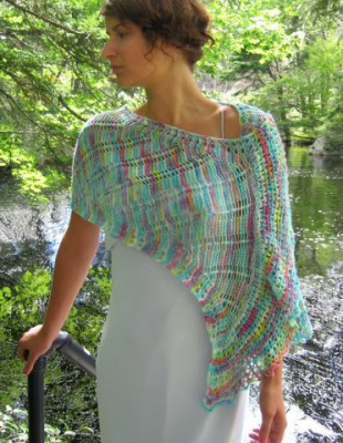 Tidal Streams/ Stole Pattern by Ilga Leja - Shawls/Stoles