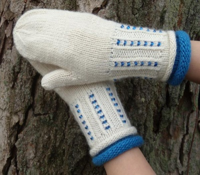 Tilda Mittens/ Beaded Pattern - Mittens/Gloves
